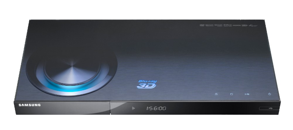 Samsung BD-C6900 3D Blu-Ray Player with Built-in Wi-Fi and 1 GB Built-In Memory