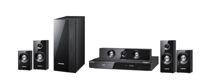 SAMSUNG HT-C6600 3D Blu-Ray Wi-Fi Home Theater System