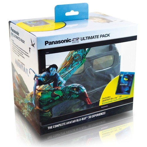 Panasonic TY-EW3D2MMK2 3D Starter Kit with Avatar Blu-ray Disc & 2 Active Shutter 3D Glasses