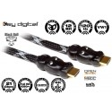 Key Digital Hi-End Premium VW1 Rated HDMI 1.4a Cable -- 3ft