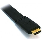 Premium High Speed HDMI 1.3a Category 2 Certified Flat Cable -- 10FT